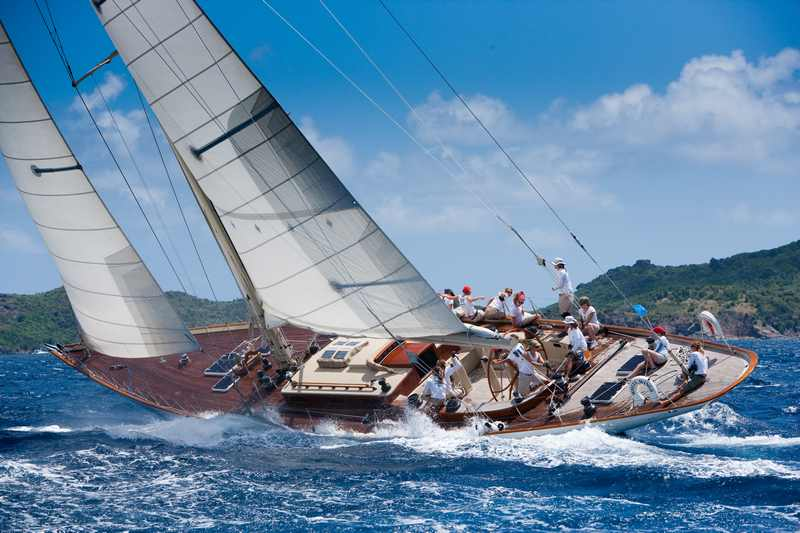 White Wings With An All Women Crew (Photo by Christophe Jouany / Les Voiles de Saint-Barth)
