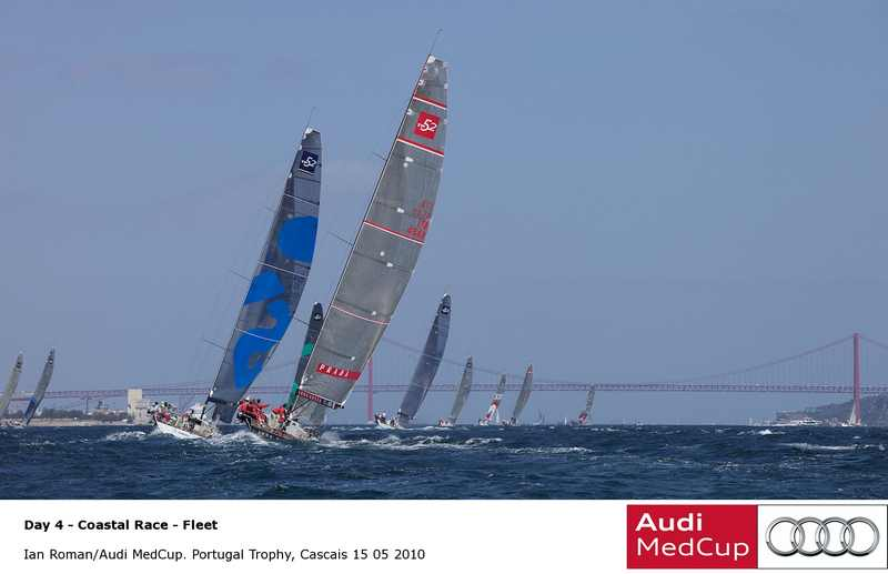 Audi MedCup Portugal Trophy Fleet Upwind (Photo by Ian Roman / Audi Medcup)