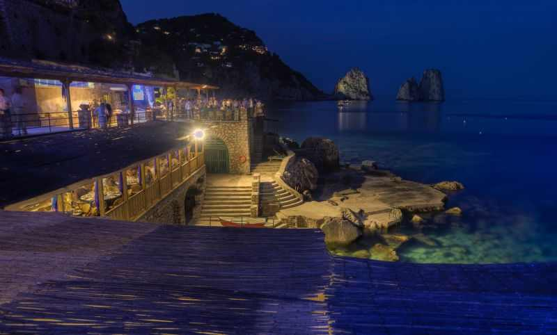 Capri by Night (Photo by Carlo Borlenghi)