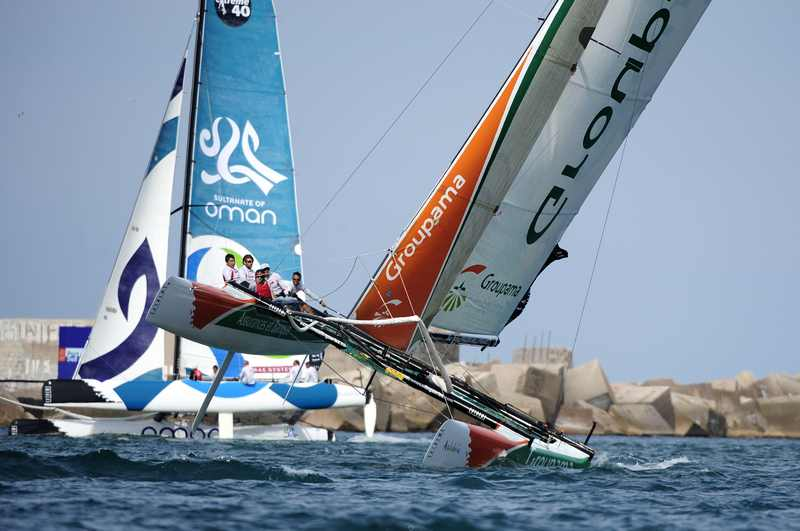 Groupama 40 (Photo by Vincent Curutchet / DPPI / OC Events )