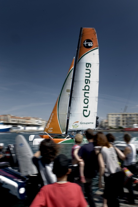 Groupama 40 (Photo by Vincent Curutchet/ DPPI/ OC Events)