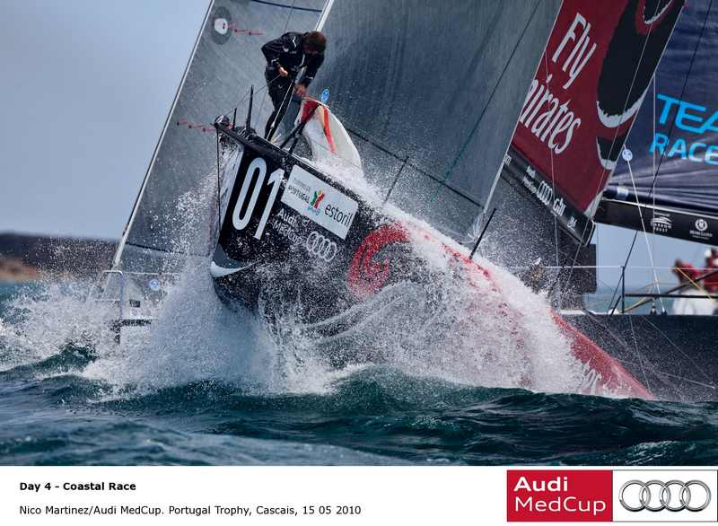 Emirates Team New Zealand (Photo by Nico Martinez / Audi MedCup)