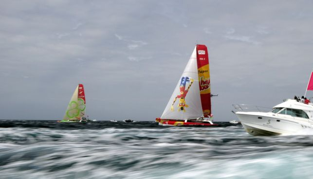 Vendee To St. Petersburg (Photo by Vincent Curutchet / DPPI / Vendee -
