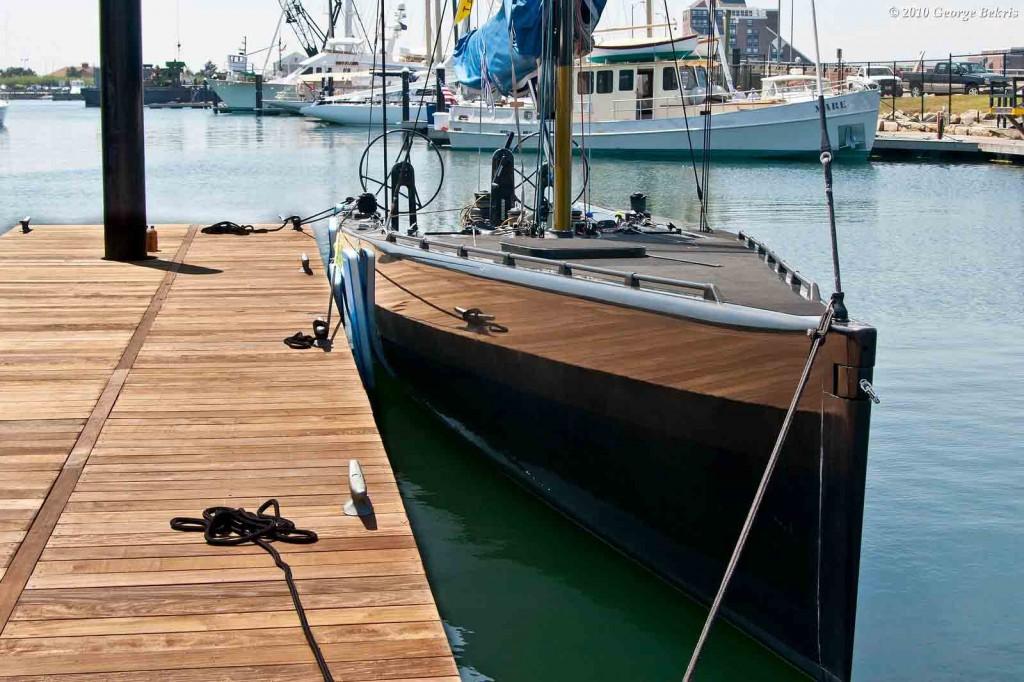 Dockside at Newport Shipyard (Photo by George Bekris)