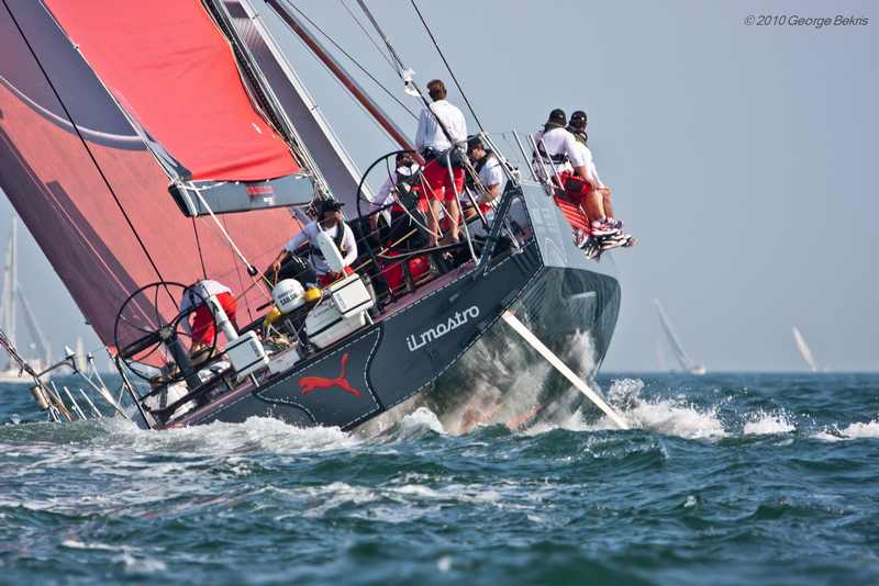 PUMA Ocean Racing's IL Mostro (Photo by George Bekris)
