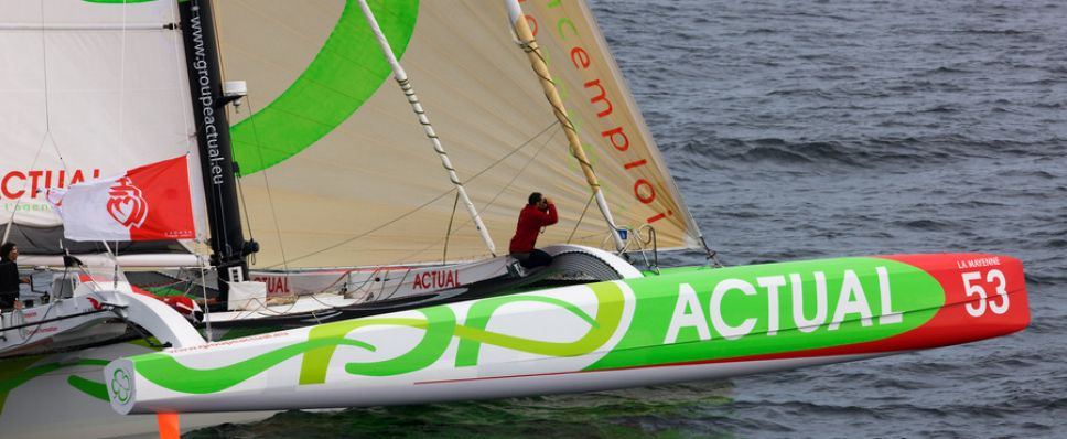Actual, Winner Of The 2010 Vendee to St. Petersburg