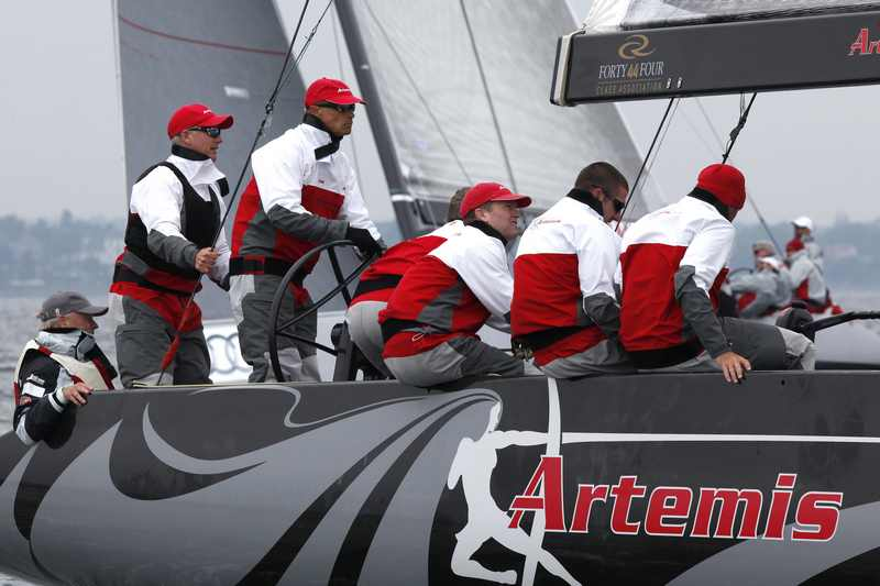 Artemis (Photo by Per Heegaard / RC44 Class)