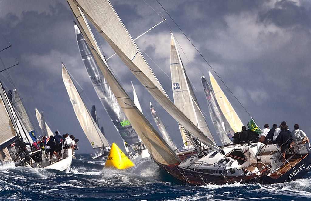 Fleet Reaches The Mark (Photo by Rolex / Kurt Arrigo )