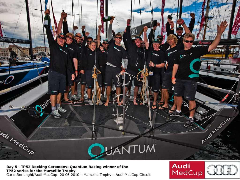 Quantum Racing Wins Marseille Trophy Audi Medcup Circuit (Photo by Carlo Borlenghi / Audi Medcup)
