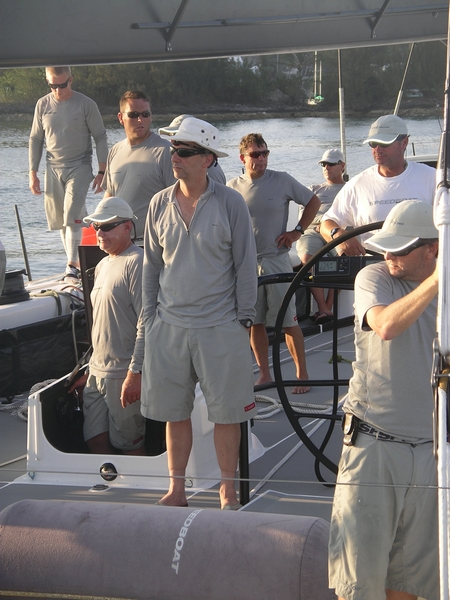 Stan Honey and Crew Of Speedboat  Arrive In Bermuda