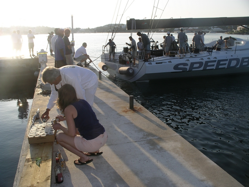 Dark n Stormys Being Prepared At The Dock