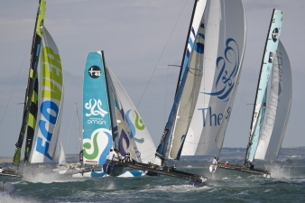 Cowes Action (Photo by Paul Wyeth / OC Events )