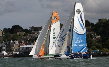 Extreme Sailing Series At Cowes ( Photo by Paul Wyeth / OC Events )