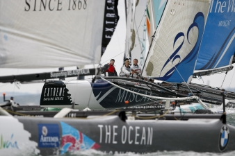 Extreme Sailing Series At Cowes Day One (Photo by Paul Wyeth/ OC Events )