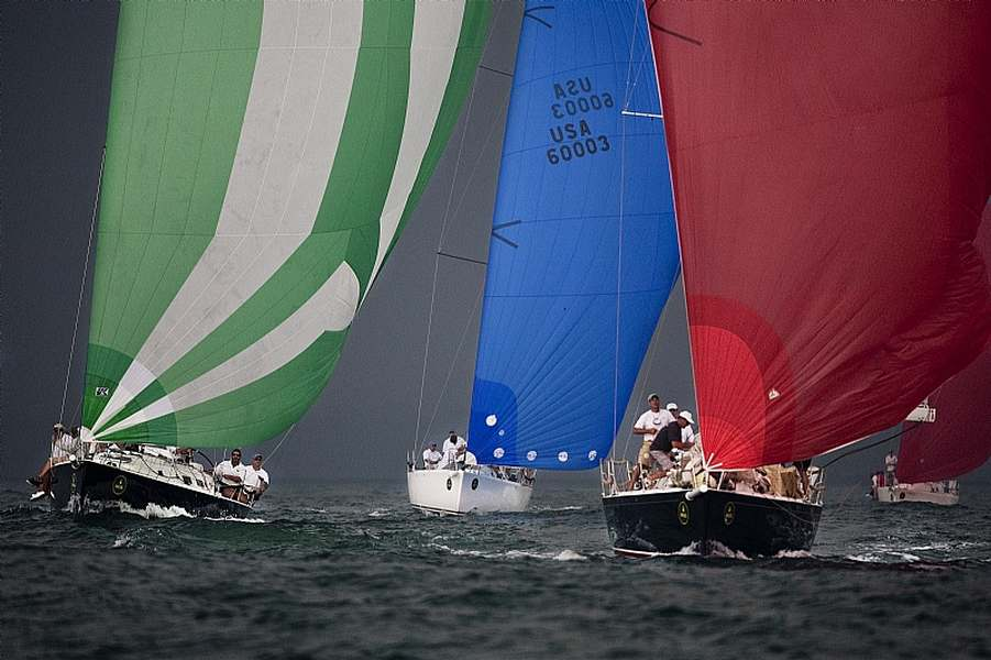 CHRISTOPHER DRAGON, Sail n¡ 12204, Owner: Andrew Weiss, City:Mamaronick, NY, Model J109 ( Photo by Rolex / Dan Nerney )