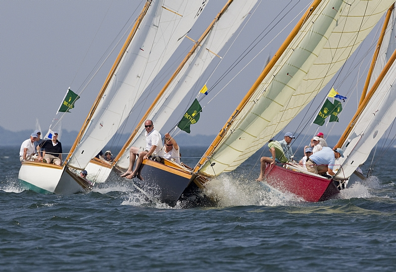 S Class Racing With Shona and Aquila ( Photo by Rolex / Dan Nearny )