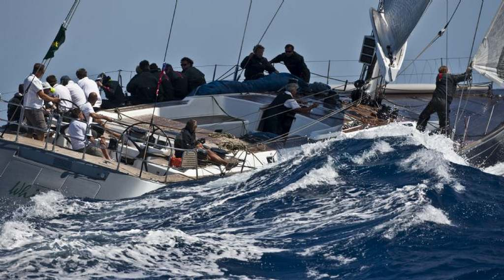 WHISPER, Yacht Name: IRL 77777, Nation: IRL, Owner: Michael Cotter, Model: Souithern Wind ( Photo by Rolex / Carlo Borlenghi )