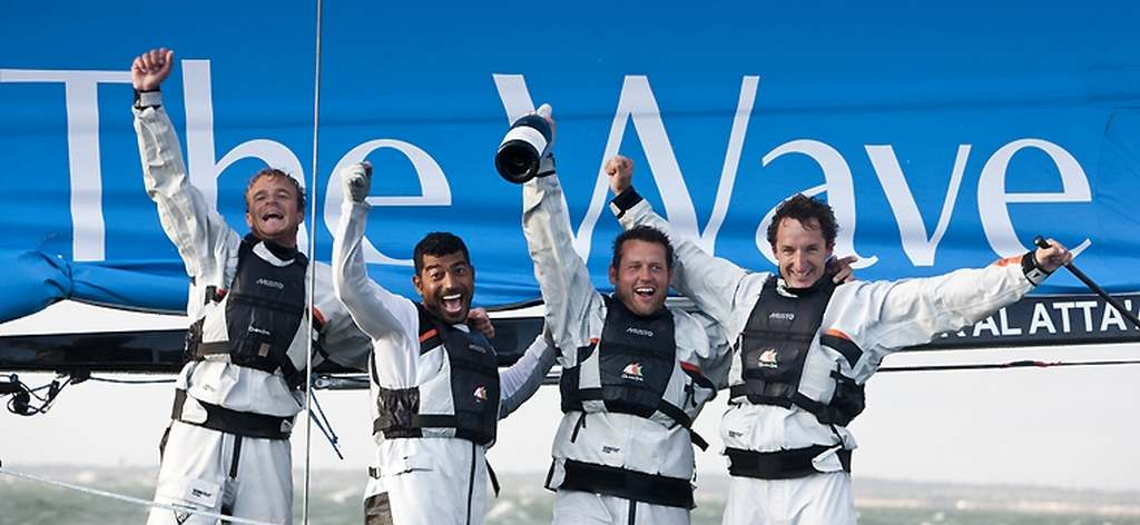 Paul Campbell-James and Muscat Crew Wins Extreme 40 Cowes (Photo by Mark LLoyd / Lloyd Images / OC Events)