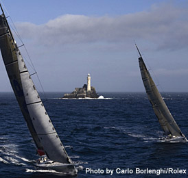 Fastnet Light ( Photo by Carlo Borlenghi / Rolex )