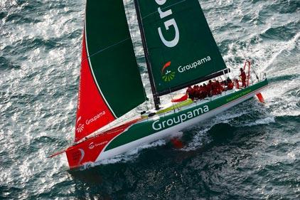 Groupama 70  (Photo courtesy of Team Groupama)