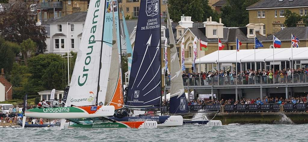 Extreme 40 Sailing Series Fleet (Photo by Paul Weyth/ OC Events)