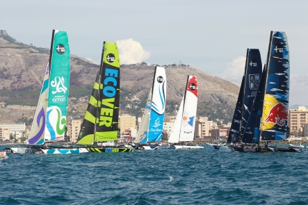 Extreme Sailing Series (Photo by Roberto Foresti / Canon / OC Events)