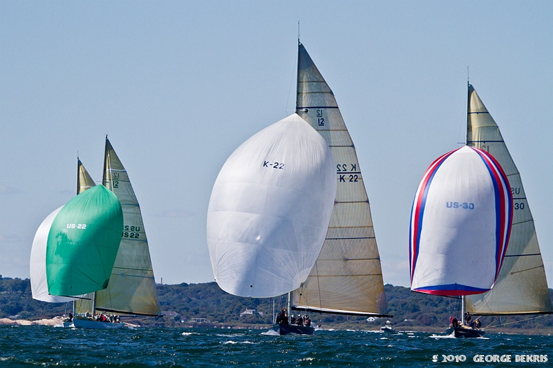 Spinnakers (Photo by George Bekris)