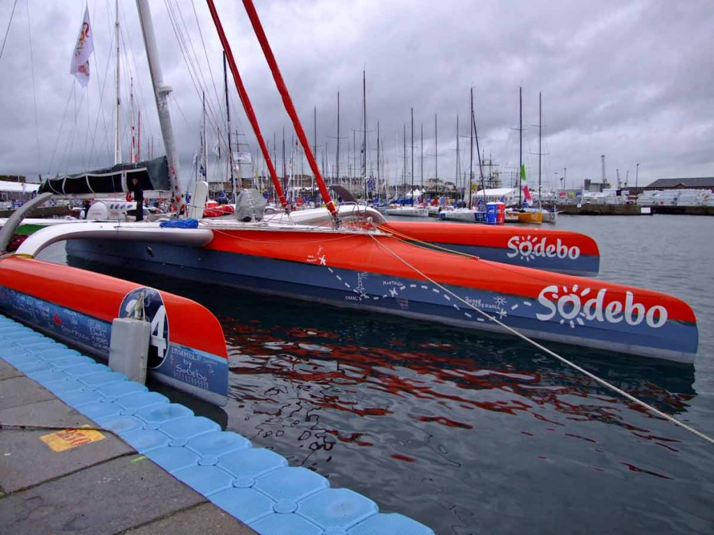 Sodebo's Bow with New Graphics (Photo by Colin Merry)