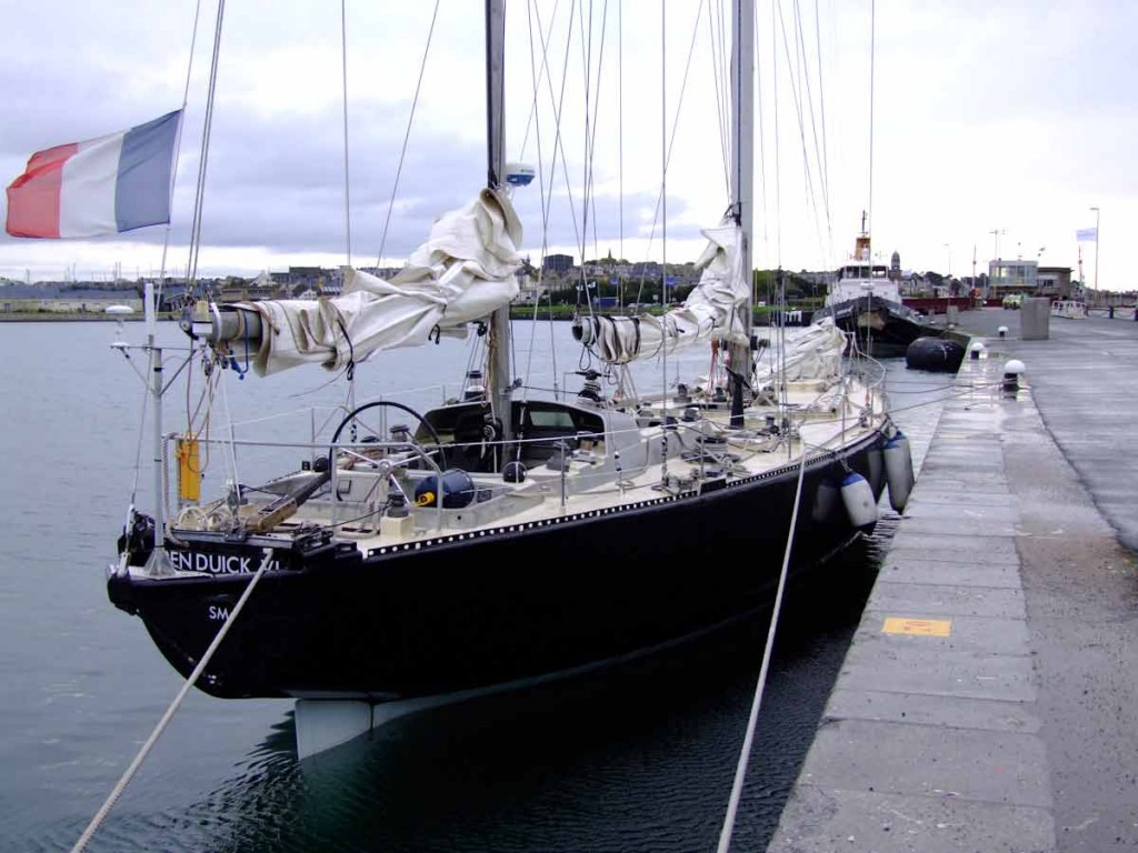 Pen Duick VI (Photo by Colin Merry)