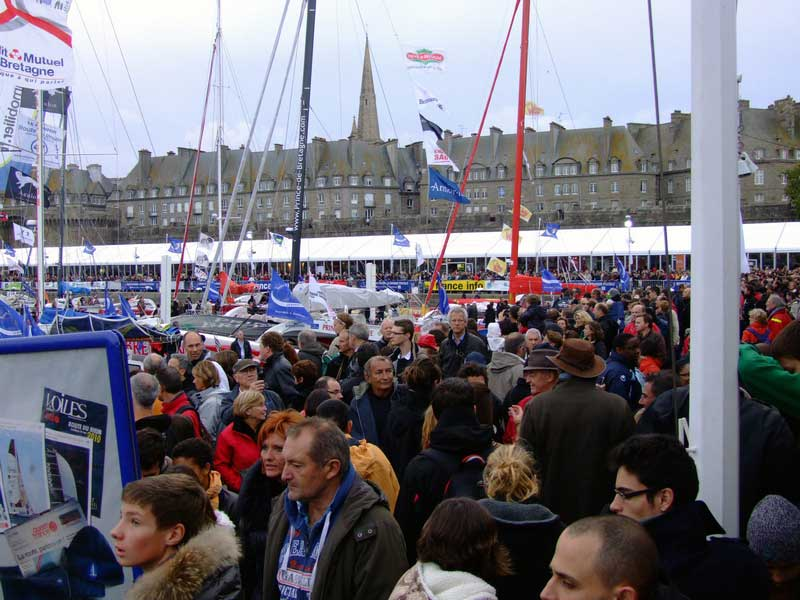 More Crowds For Pre-start Festivities (Photo by Colin Merry)