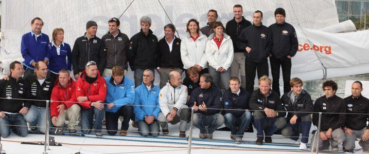 Barcelona World Race Skippers (Photo courtesy of Barcelona World Race)