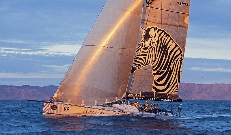 INVESTEC LOYAL, Sail No: 99999, Owner: Sean Langman, State: NSW, Division: IRC, Design: Elliott, LOA (m) : 30.5, Draft (m): 6.2 (Photo by Rolex / Daniel Forster)