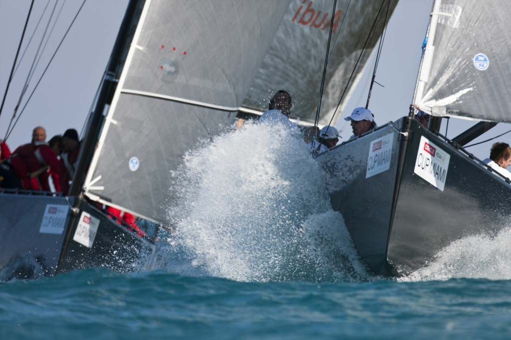 RC 44 Cup Miami (Photo by Gilles Martin-Raget / BMW ORACLE)
