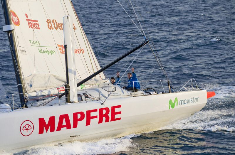 Mapfre (Photo courtesy of Mapfre / Barcelona World Race)