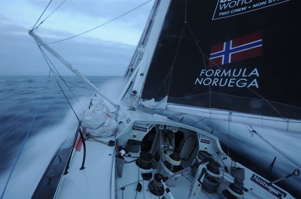 Neutrogena (Photo courtesy of Barcelona World Race / Neutrogena)