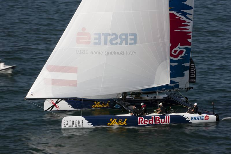 Red Bull Extreme Sailing skippered by Roman Hagara (Photo © Lloyd Images)
