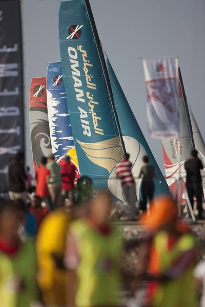 Extreme Sailing Series 2011. Leg 1. Muscat. Oman (Photo © Lloyd Images )