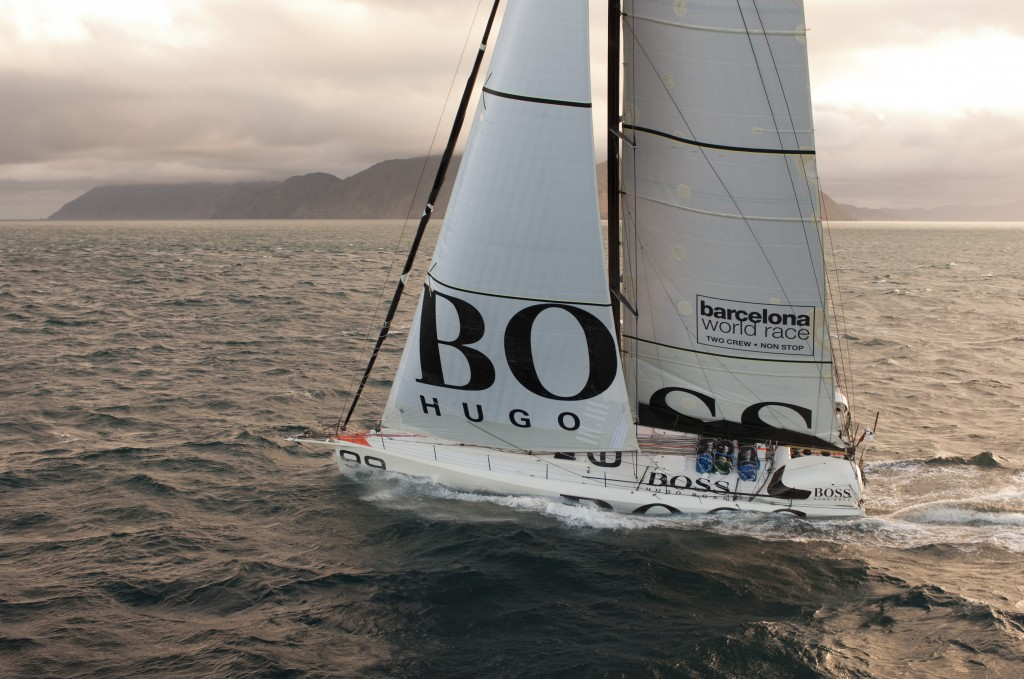 Hugo Boss at Wellington NZ , Cook Strait (Photo by Chris Cameron)