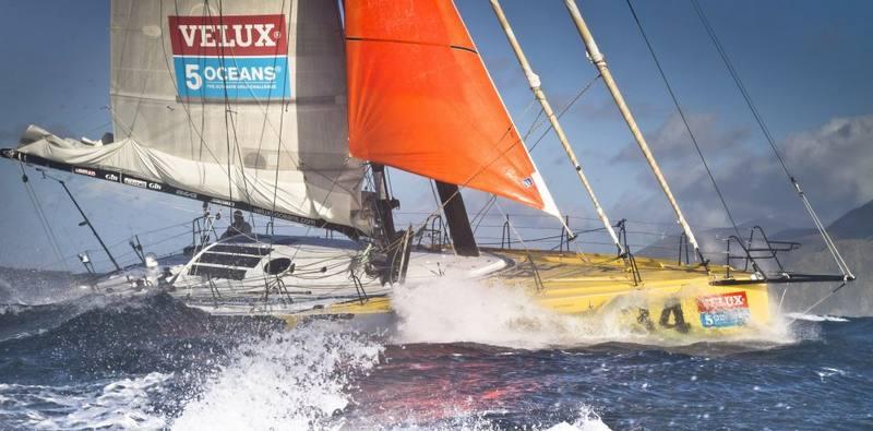 Brad Van Liew onboard Le Pingouin (Photo by Ainhoa Sanchez/w-w-i.com)