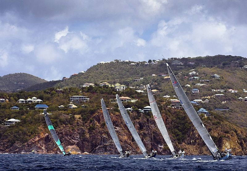 Fleet (Photo by Rolex / St. Thomas Yacht Club / Ingrid Abery )