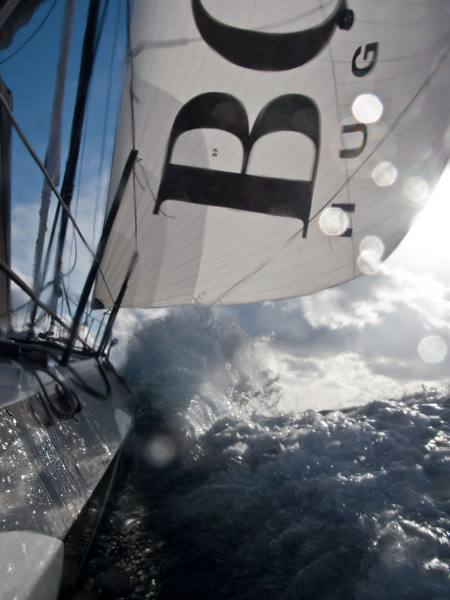 Hugo Boss (Photo courtesy of Hugo Boss / Barcelona World Race)