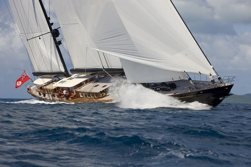 Marie 55m (Photo courtesy of The Superyacht Cup