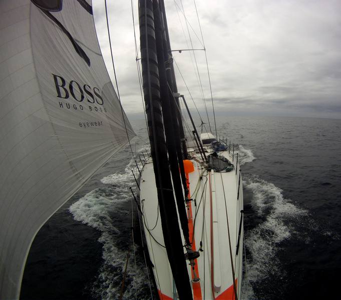 Hugo Boss Pushes For A Weekend Finish (Photo copywright Hugo Boss)