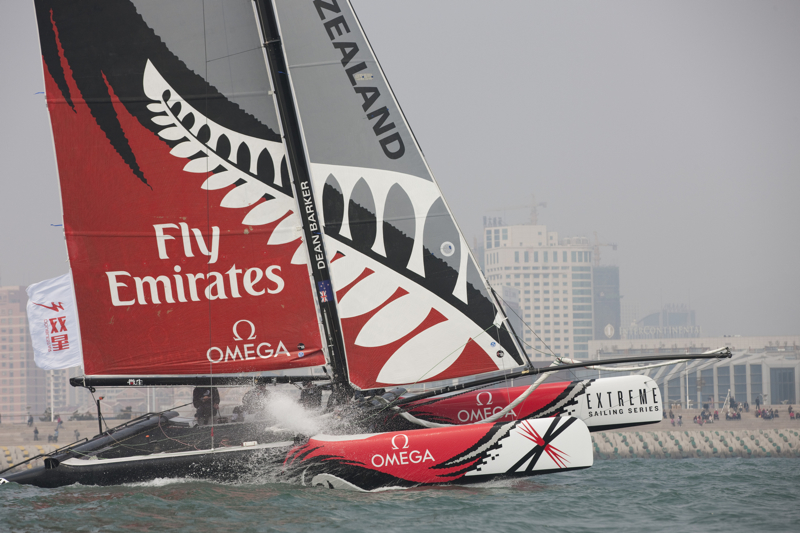 Emirates Team New Zealand (Photo by Lloyd Images)