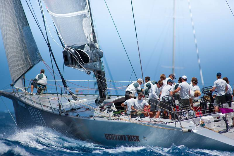 Genuine Risk (Photo by Christophe Jouany  / Les Voiles de Saint-Barth )