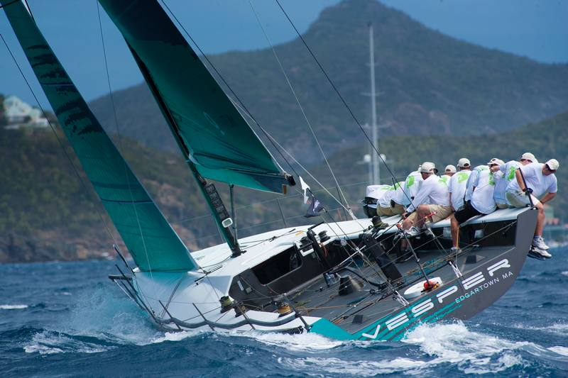 Vesper  (Photo by Christophe Jouany / Les Voiles de Saint-Barth )