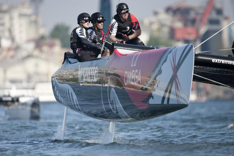Dean Barker and Emirates Team New Zealand (Photo by Lloyd Images)