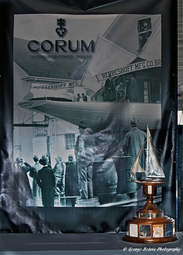 J-Class Regatta Perpetual Trophy Unveiling (Photo by George Bekris)