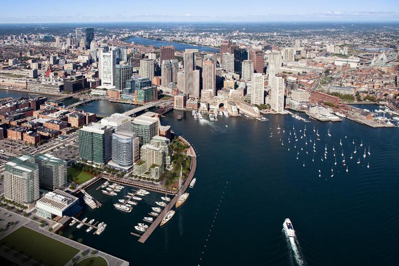 Boston Fan Pier Aerial (Photo by Boston Fan Pier)