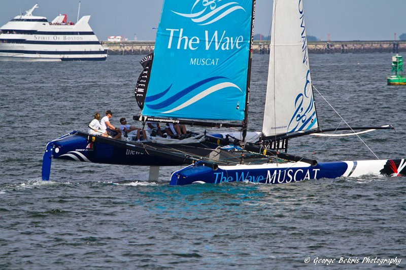 Boston Extreme Sailing Series (Photo by George Bekris)